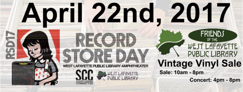 Vintage Vinyl Sale: April 22nd, 2017